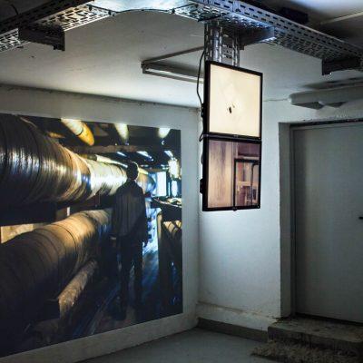 exhibition view »Stadt aus Silber«, Aktionsraum »Heller als das Licht«, Leipzig | photographer: Ray Peter Maletzki
